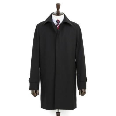 暖かステンカラーコート ストレッチ スリム LES MUES