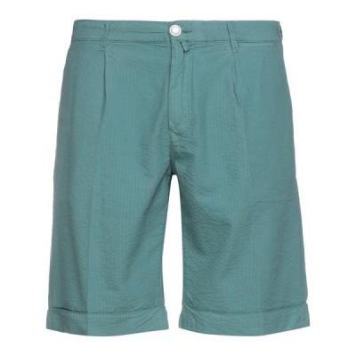 JACOB COHEN ジェイコブコーハン ショートパンツ&バミューダパンツ  メンズファッション  ボトムス、パンツ  ショート、ハーフパンツ グリーン