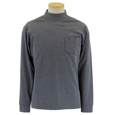 シニアファッション ハイネック 長袖 ポケット付き Tシャツ ロンTトロイ TOROY メンズ トップス シニア 60代 70代 80代 父の日 敬老の日