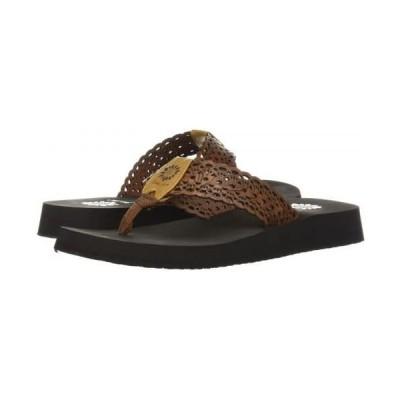 Yellow Box(イエローボックス) レディース 女性用 シューズ 靴 サンダル Wally - Tan 6 M [並行輸入品]