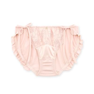 フランデランジェリー fran de lingerie Elegance Satin エレガンスサテン コーディネート紐ショーツ 【返品不可商品】(ピンク)