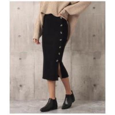 ANAP(アナップ)ベッコウボタンリブニットスカート【お取り寄せ商品】