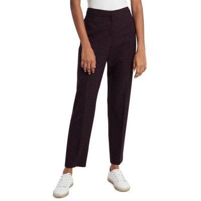 ライリー レイ カジュアルパンツ ボトムス レディース Riley Slim Trousers, Created For Macy's Heritage Red/Black