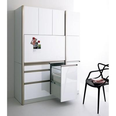 家具 収納 キッチン収納 食器棚 キッチンストッカー 食品ストッカー Maquina/マキナ カップボード・食器棚 幅40cm H87805