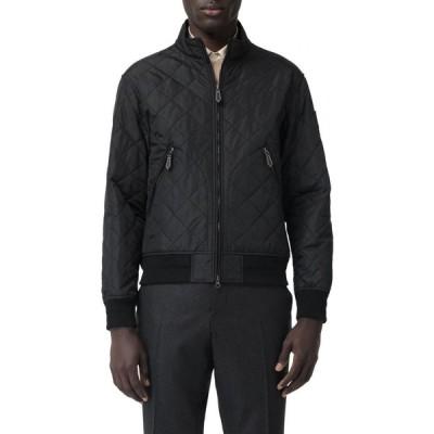 バーバリー BURBERRY メンズ ジャケット アウター Richworth Thermoregulated Diamond Quilted Jacket Black