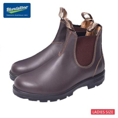 BLUNDSTONE ブランドストーン #550 Walnut,Brown ウォールナット ブラウン レディース サイドゴアブーツ ショートブーツ