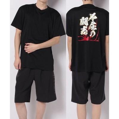 s.a.gear エスエーギア 半袖メッセージTシャツ  不屈の闘志 SA-S20-001-004 野球 半袖Tシャツ メンズ ブラック セール