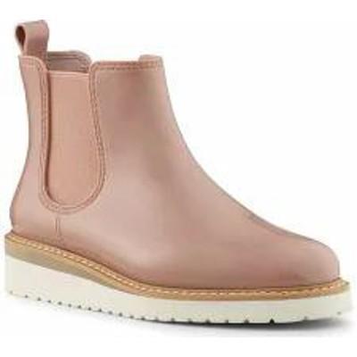 Cougar レディースシューズ Cougar Kensington Waterproof Chelsea Boot Nude Rubber