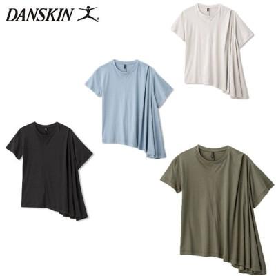 ダンスキン レディース Tシャツ ASYMMETRY TUCK TEE DC50119 フィットネス スポーツ 半袖