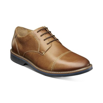 ナンブッシュ Nunn Bush メンズ 革靴・ビジネスシューズ シューズ・靴 Pasadena Cap-Toe Oxfords Cognac