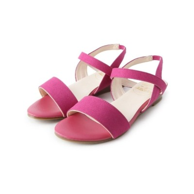 ピンクアドベ pink adobe <日本製>歩きやすくて、汚れにくい 優秀サンダル (チェリーピンク)