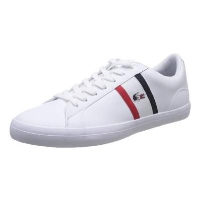 LACOSTE [ラコステ][メンズ] LEROND TRI 1 WHITE/NAVY/RED CMA044L-407