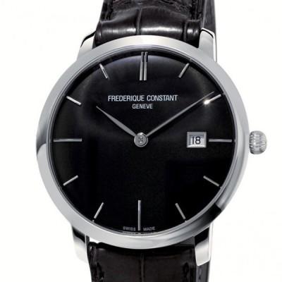 フレデリック・コンスタント FREDERIQUE CONSTANT スリムライン オートマチック FC-306G4S6 ブラック文字盤 新品 腕時計 メンズ