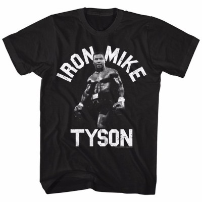 Tシャツ マイクタイソン Mike Tyson Iron Mike Licensed Adult T Shirt