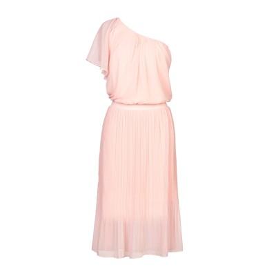 TRAFFIC PEOPLE 7分丈ワンピース・ドレス ライトピンク S ポリエステル 100% 7分丈ワンピース・ドレス