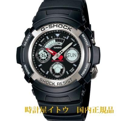 カシオ G-SHOCK AW-590-1AJF ベーシックモデル