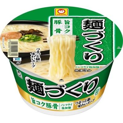 マルちゃん 麺づくり 旨コク豚骨 87g 1ケース(12個入)