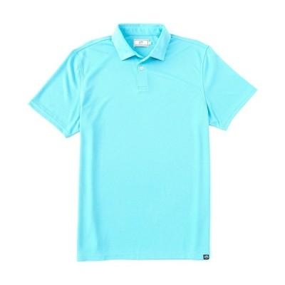 サウザーンタイド メンズ ポロシャツ トップス Verano Performance Stretch Short-Sleeve Polo Shirt Crystal Blue