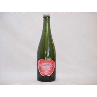 北海道余市産りんご100%シードル スパークリングワイン alc.5.5% やや甘口 750ml×1本