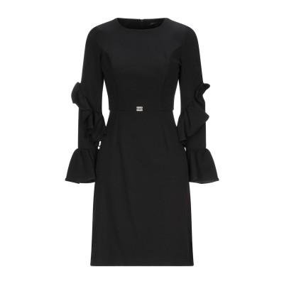 ROBERTA BIAGI ミニワンピース&ドレス ブラック XS ポリエステル 90% / ポリウレタン 10% ミニワンピース&ドレス