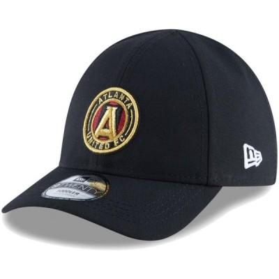 ベビー スポーツリーグ サッカー Atlanta United FC New Era Toddler My First 9TWENTY Adjustable Hat - Black - OSFA 帽子