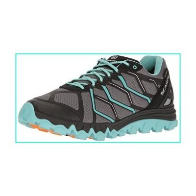 【新品】SCARPA Women's SCAPRA Proton GTX WMN Trail Running Shoe Runner, Gray/Sky, 38 EU/7 M US(並行輸入品)
