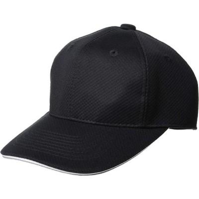 [エスエスケイ] ベースボールウェア 6方型アメリカンメッシュベースボールキャップ [メンズ] BCG062 ブラック (90) 日本 62 (FR