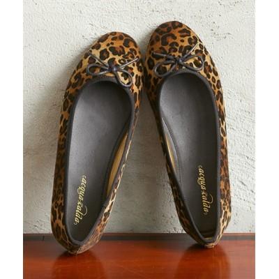 ラウンドトゥバレエシューズ(ワイズ3E) シューズ(フラットシューズ) Shoes