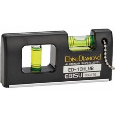 エビス ダイヤモンド磁石付ハンディーレベルー2ブラック 20x46x100 ED-10HLMB