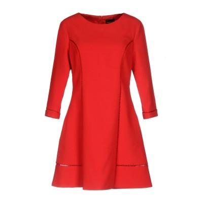 ERMANNO DI ERMANNO SCERVINO ミニワンピース&ドレス レッド 44 ポリエステル 100% ミニワンピース&ドレス