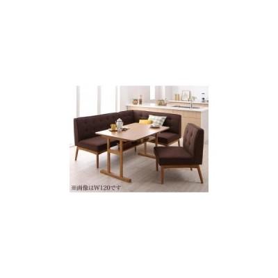 ソファ ソファー 北欧デザインリビングダイニングセット 4点セット テーブル+ソファ1脚+アームソファ1脚+チェア1脚 右アーム W150 5000278567