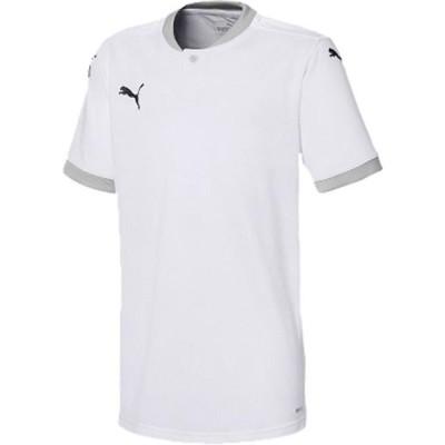 プーマ サッカー TEAMFINAL21 シャツ JR 20Q1 PUMAWH-GR Tシャツ(704621-04)