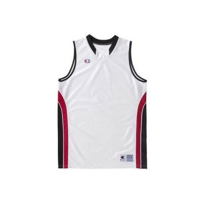 (チャンピオン) Champion ゲームシャツ CBR2204 WK ホワイト×ブラック S