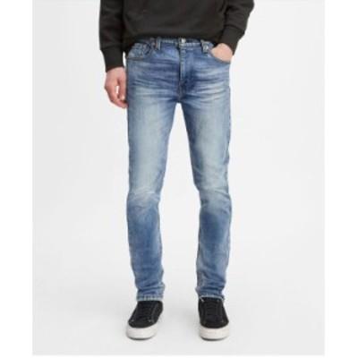 リーバイス メンズ デニムパンツ ボトムス Flex Men's 510 Skinny Fit Jeans Illusion Blue