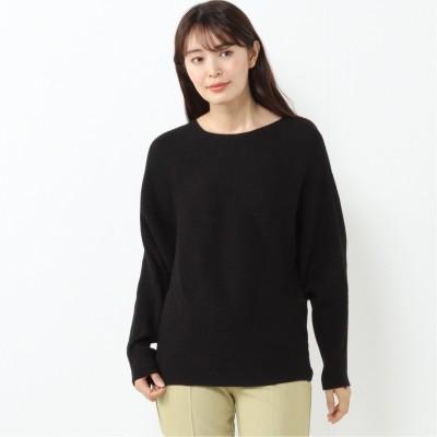【nojean】 横編みボートネックセーター【M―3L】(ノージーン/NO JEAN)