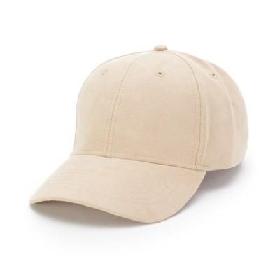 帽子 キャップ スエード調キャップ