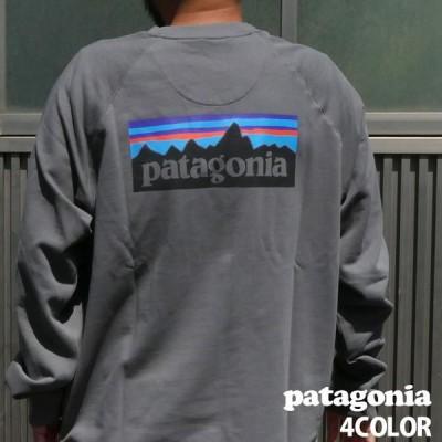 新品 パタゴニア Patagonia 21SS M's P-6 Logo Organic Crew Sweatshirt P-6ロゴ オーガニック クルー スウェット 39603 2021SS 209000596052 SWT/HOODY