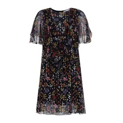 シーバイクロエ SEE BY CHLOÉ ミニワンピース&ドレス ブラック 40 シルク(マルベリーシルク) 100% ミニワンピース&ドレス