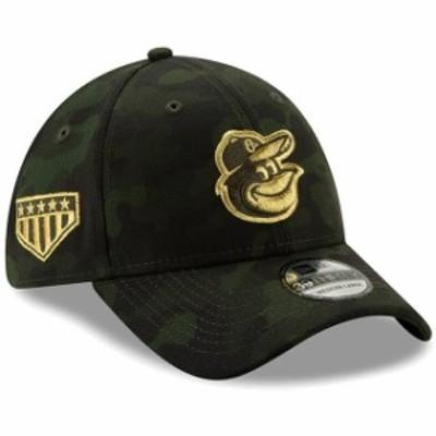 New Era ニュー エラ スポーツ用品  Baltimore Orioles New Era 2019 MLB Armed Forces Day 39THIRTY Flex Hat - Camo