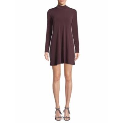 BCBG ジェネレーション レディース ワンピース Knit Turtleneck Swing Dress