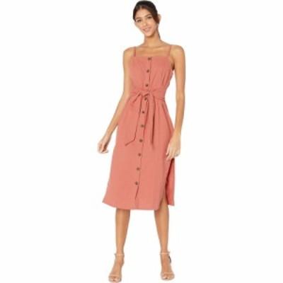 ミンクピンク MINKPINK レディース ワンピース ミドル丈 ワンピース・ドレス Alcove Tie Waist Midi Dress Dusty Rose