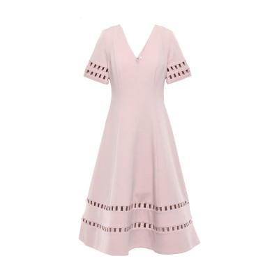 RACHEL GILBERT 7分丈ワンピース・ドレス ピンク 0 ポリエステル 97% / ポリウレタン 3% 7分丈ワンピース・ドレス