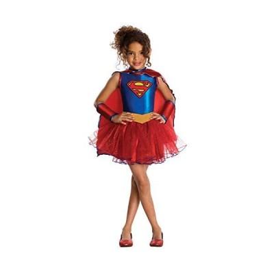 Supergirl Tutu Child Costume スーパーガールチュチュ子供用コスチューム♪ハロウィン♪サイズSmall  4-6x  並