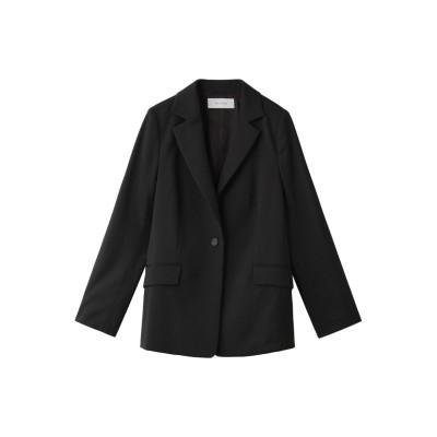 HELIOPOLE エリオポール ウールツイルジャケット レディース ブラック 36