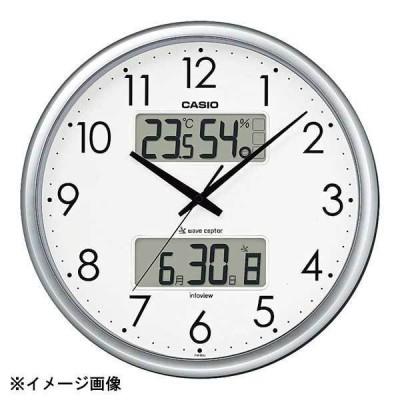 カシオ 温湿度計付電波時計 ITM-650J-8JF