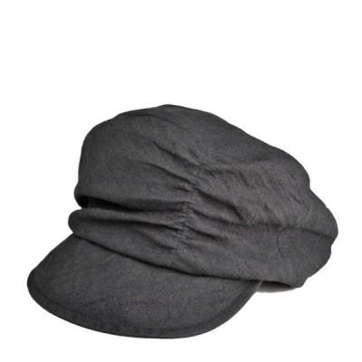 リネン&スミ・キャスプ 麻 春夏 メンズ レディース キャスケット 帽子