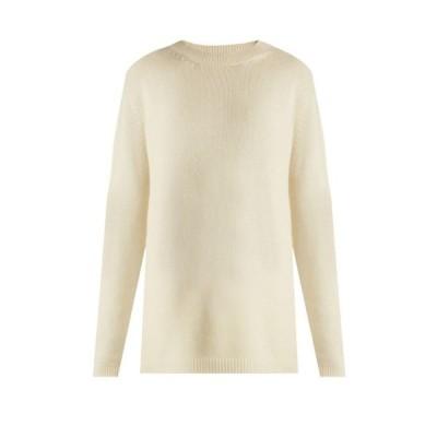 レイ Raey レディース ニット・セーター トップス Loose-fit cashmere sweater ivory