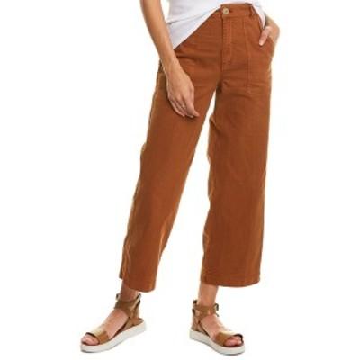 フリーピープル レディース カジュアルパンツ ボトムス Free People Sunday Skies Straight Leg Pant saddle brown