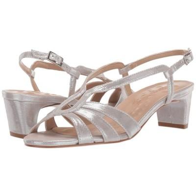 ウォーキング クレードル Walking Cradles レディース ヒール シューズ・靴 Leandra Silver Sparkle Leather