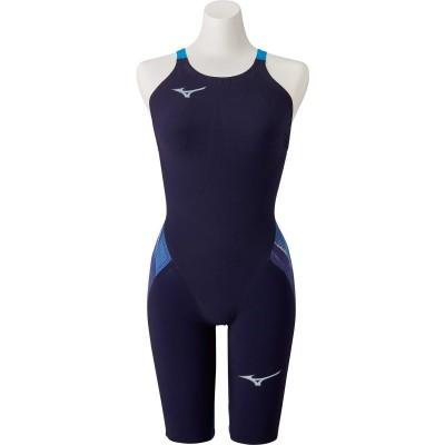 MIZUNOスイム・競泳水着 競泳用GX・SONIC V MR ハーフスーツ FINA承認 N2MG020220ブルー